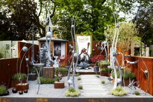 Ian Gill at Chelsea Flower Show
